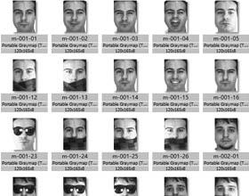 AR人脸识别数据集