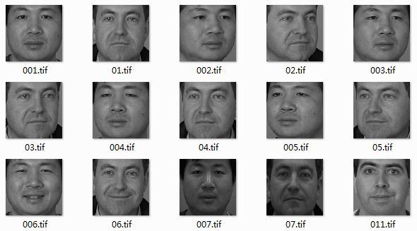 FERET人脸数据库