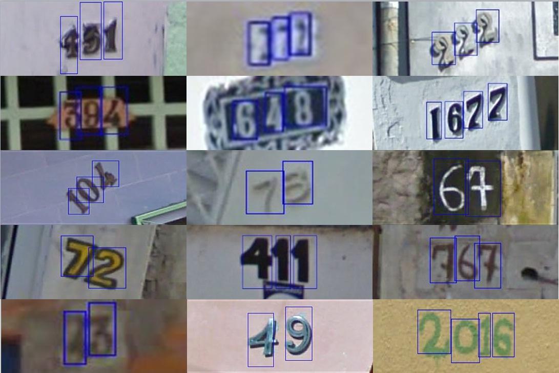 街景号码(SVHN)图像数据集