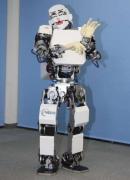 """消毒机器人""""康康"""":消毒比人工快十倍,极大"""