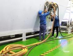 除锈爬壁机器人为我国船舶智能制造业发展提供