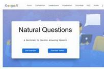 谷歌发布自然问答数据集 Natural Questions