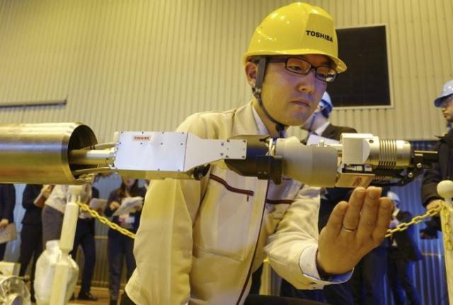 新型探测型机器人将进入福岛电站2号核反应堆调