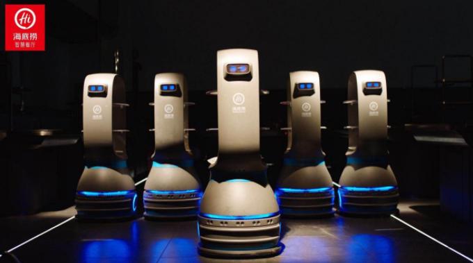 【深度】布局送餐机器人 餐饮企业争抢4万亿餐饮
