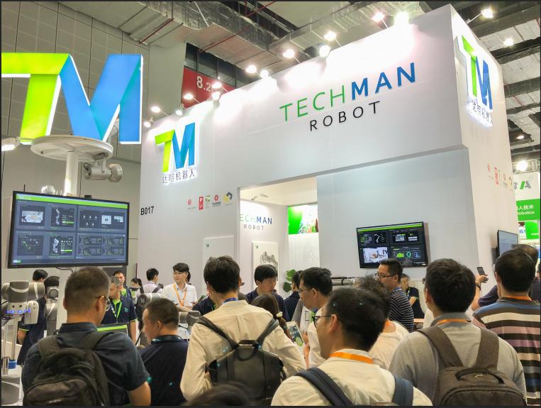 达明机器人深耕华南市场 亮相深圳国