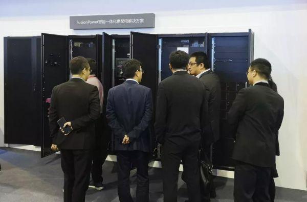 华为全球首发FusionPower@Li-ion1.6MW大型数据中心UP