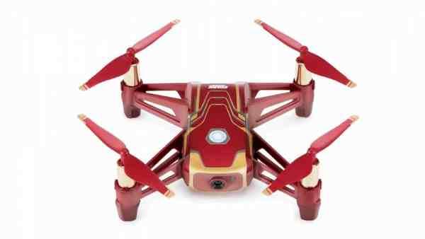 与 Marvel 跨界合作 DJI 推出钢铁侠特别版 Tello 无人机
