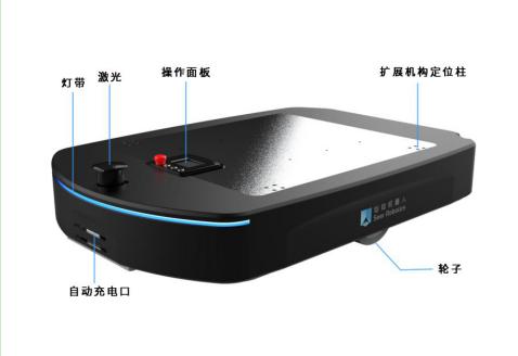 AMB无人搬运底盘硬件构成大公开