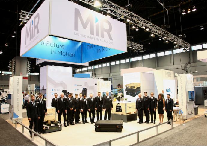 MiR自主移动机器人推出可最高负载1吨的全