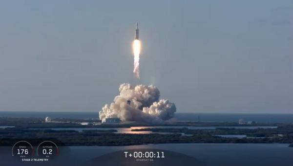 SpaceX今年第六次发射猎鹰9号,二手火箭再次回收