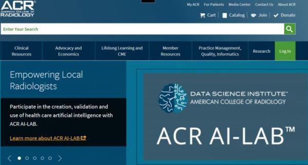 放射科医生可零门槛调用AI算法:美国放射学会发