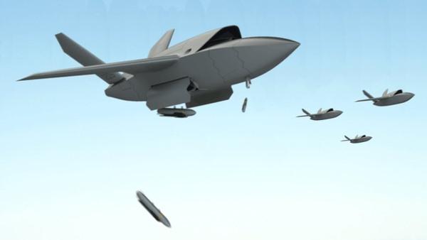 AI 无人机群殴载人战机!美空军研发将改写未来