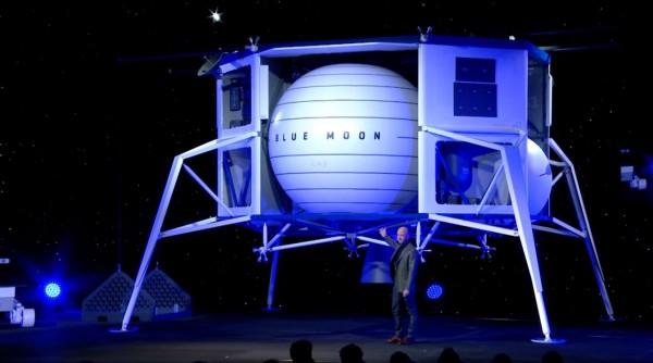 5年内带人类重返月球,贝索斯打造的太空船「蓝
