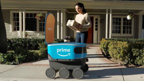 亚马逊正在使用机器人打包订单!