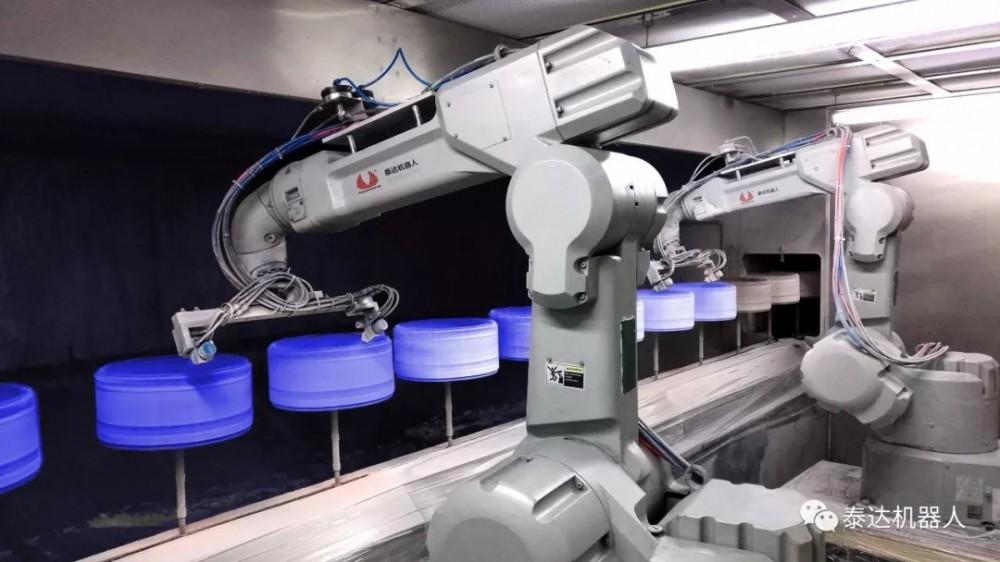 泰达机器人大力发展数字化涂装!