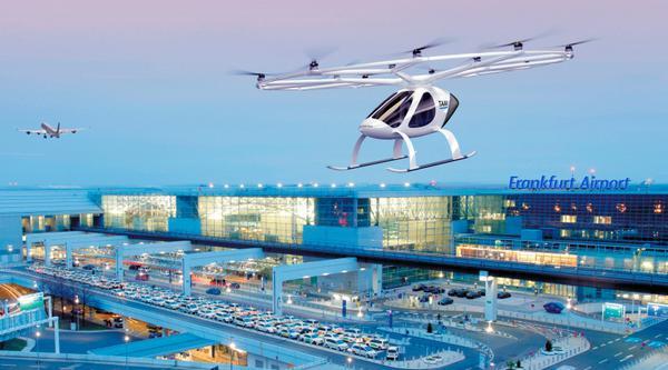 德国创企Volocopter开建首个空中出租车起降设施