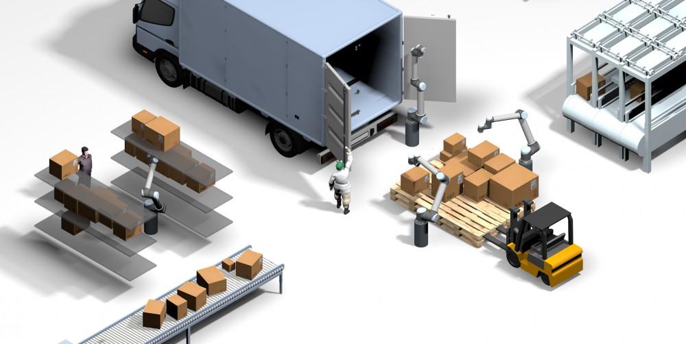 协作式包装处理机器人Pickle Robots获得