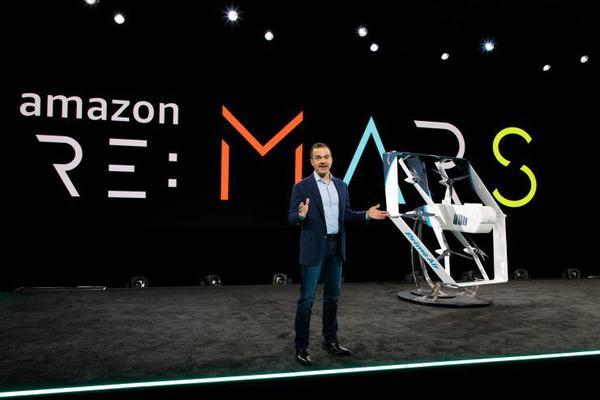 """亚马逊发新版送货无人机,""""数月内""""将用于递"""