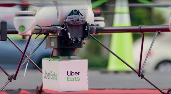 无人机送餐将成真?Uber Eats决定在美国加州展开