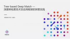 阿里妈妈深度树检索技术(TDM)及应用框架的探