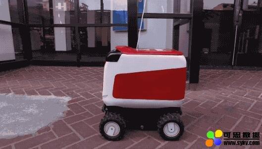 美网红送餐无人车用人冒充AI:在南美雇人远程操