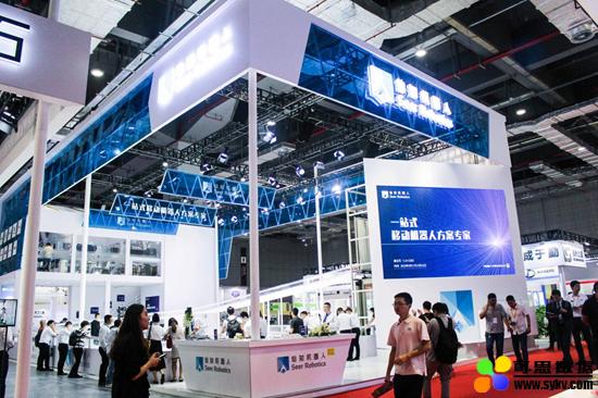2019工博会,仙知机器人秀出移动机器人