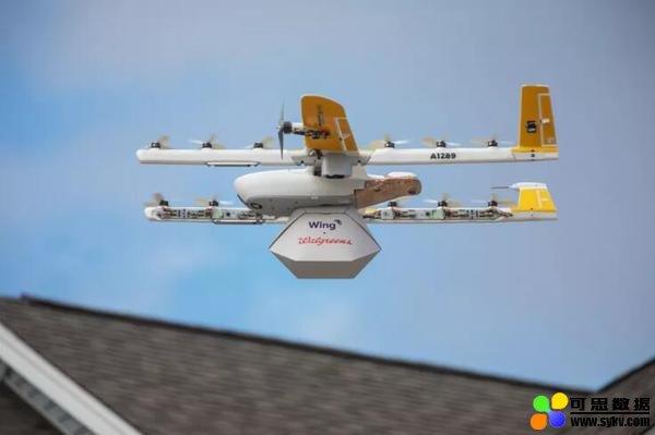 谷歌兄弟公司Wing在美推出商用无人机递送服务