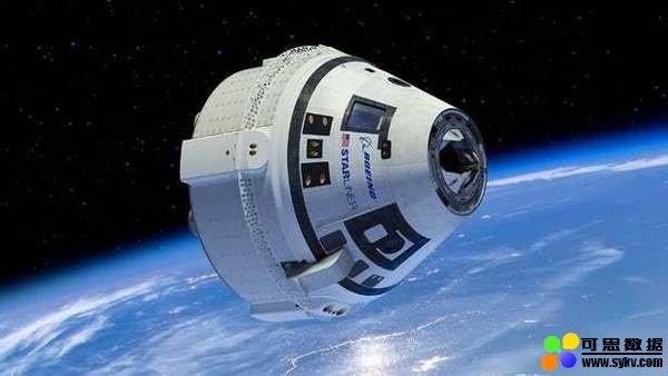 波音载人飞船发射测试总体成功,只一个降落伞