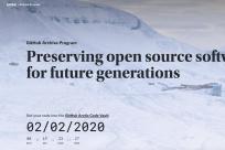 GitHub 启动代码永久保存计划,至少一千年