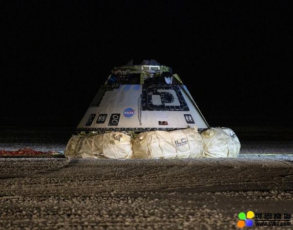 波音测试飞船成功在美沙漠着陆,完成首次太空
