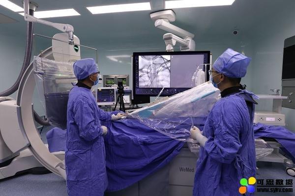 中国首例机器人辅助全脑血管造影手术成功