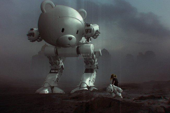 机器人警察正在将虚幻变成现实